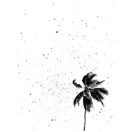 palm3 - Männer Premium T-Shirt