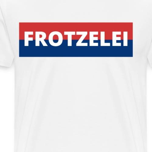 FROTZELEI - Polizeikontrolle Geschenk Autofahrer - Männer Premium T-Shirt