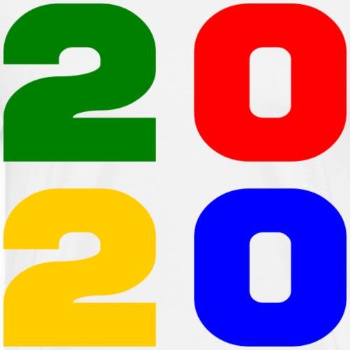 2020 - Quelle année ! - T-shirt Premium Homme