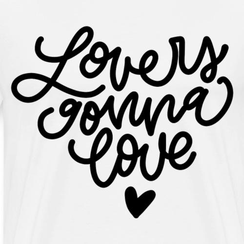 Lovers gonna love Monoline Lettering