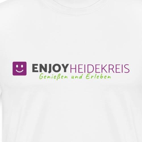 Enjoy Heidekreis - Das Design zum Blog - Männer Premium T-Shirt