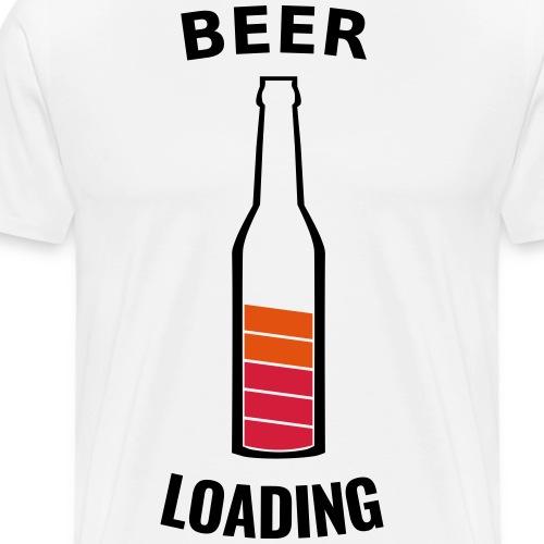 Beer Loading - T-shirt Premium Homme