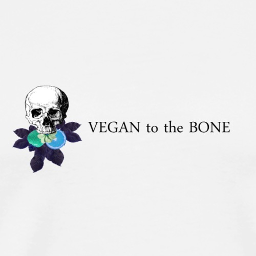 Vegan to the Bone Brand - Men's Premium T-Shirt