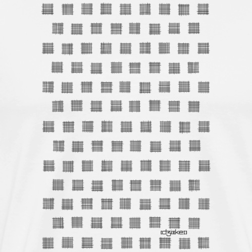 pattern - grids - Men's Premium T-Shirt