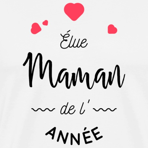 Maman de l'année - T-shirt Premium Homme