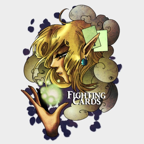 Fighting cards - Soigneuse - T-shirt Premium Homme