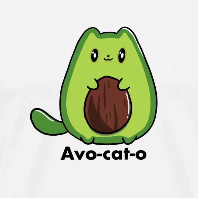 Gatto avocado - Avo - cat - o tutti i motivi