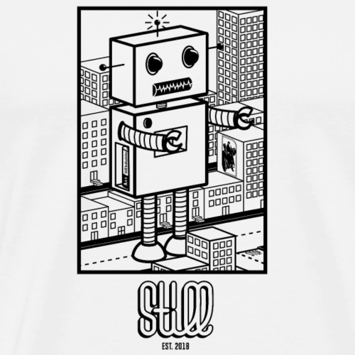 GODZI_BOT - Maglietta Premium da uomo