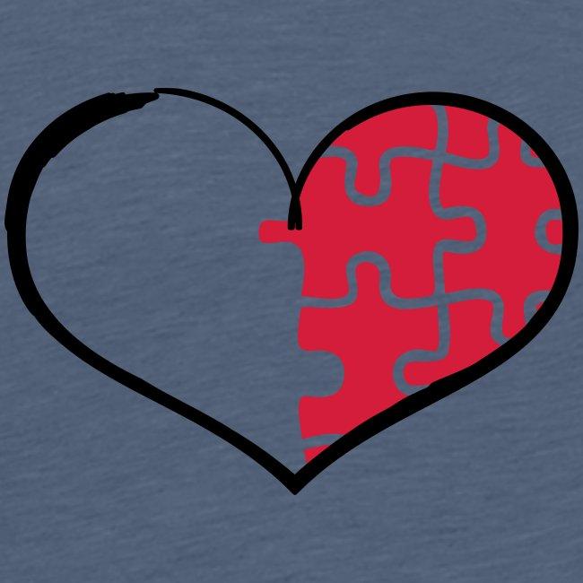Half Heart Right