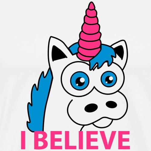 I believe... - Männer Premium T-Shirt