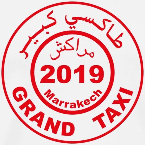 Logo du Grand Taxi de Marrakech 2019 - T-shirt Premium Homme