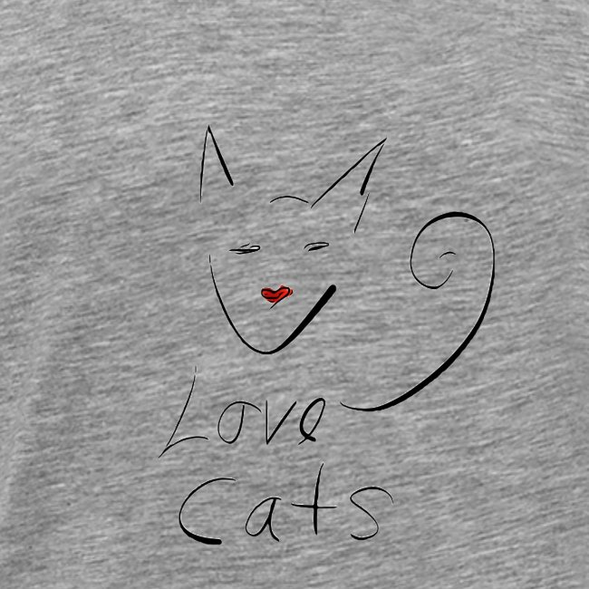 Cats love