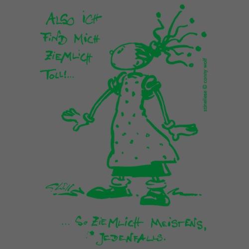 Stineliese...ziemlich toll! - gruen - Männer Premium T-Shirt