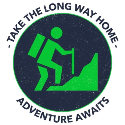 Take the long way home - Männer Premium T-Shirt