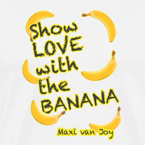 live stream special edit.banana. maxi - Men's Premium T-Shirt