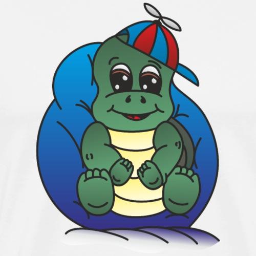 Schildkröte Junge - Männer Premium T-Shirt