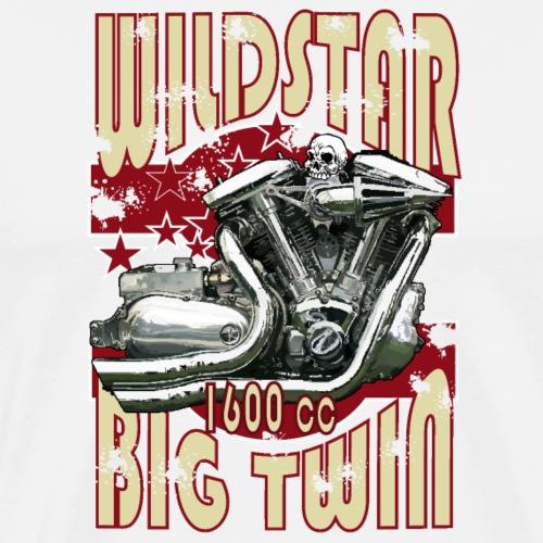Wildstar Motor - Mannen Premium T-shirt