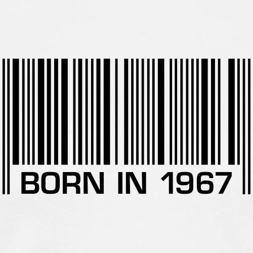 born in 1967 50th birthday 50. Geburtstag barcode - Männer Premium T-Shirt