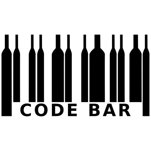 code bar - T-shirt Premium Homme