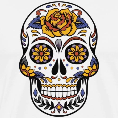 skull mexiko mexico - Männer Premium T-Shirt