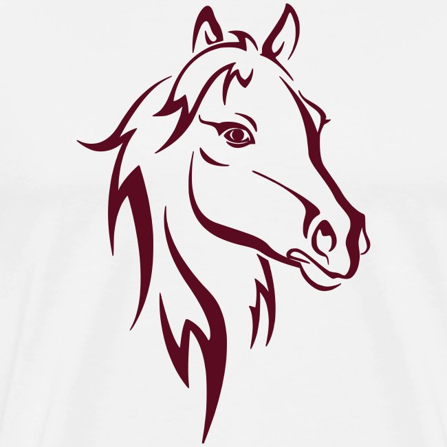 Vorschau: Horse - Männer Premium T-Shirt