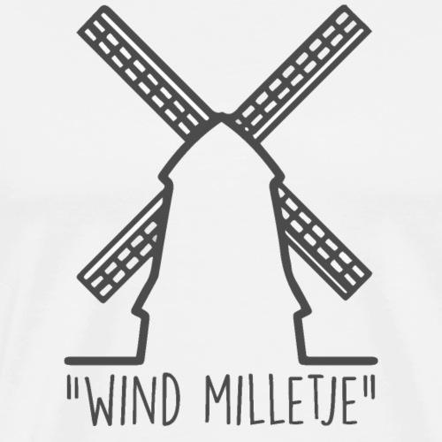 Wind Milletje - Mannen Premium T-shirt