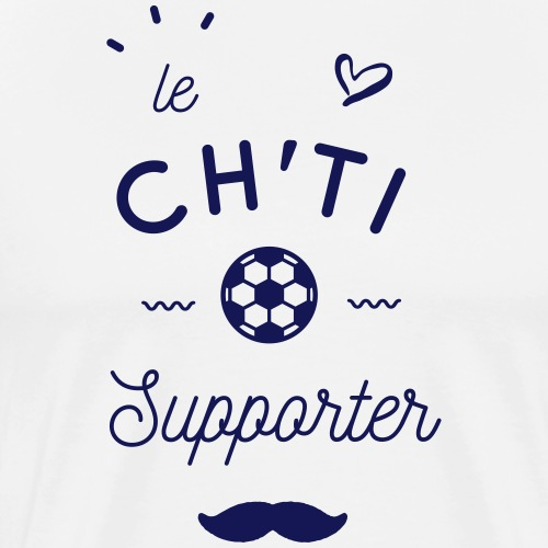 Le ch'ti supporter - T-shirt Premium Homme