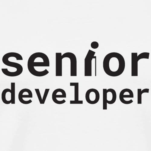 Senior developer | programmer jokes - Men's Premium T-Shirt