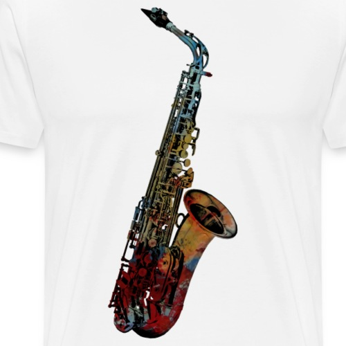 sax - Männer Premium T-Shirt