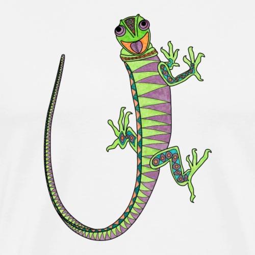 Climbing lizard - Men's Premium T-Shirt