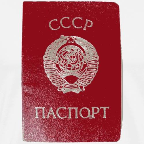 passport russia sowjet geschenk - Männer Premium T-Shirt
