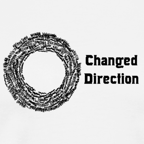 Changed Direction - Men's Premium T-Shirt