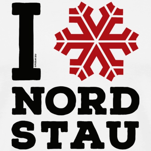 I love Nordstau Shop - Men's Premium T-Shirt