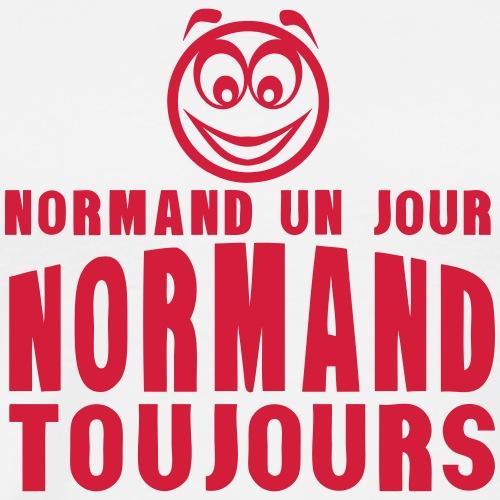 normand un jour toujours face 1 - T-shirt Premium Homme