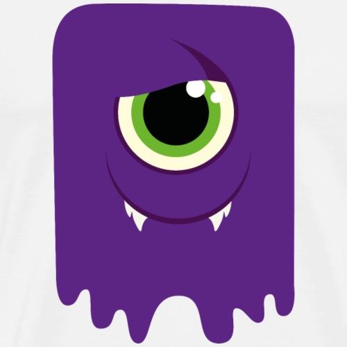 Monster / Alien Papa - Männer Premium T-Shirt