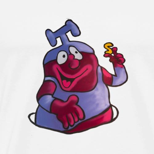 alfabet Skrump - Herre premium T-shirt