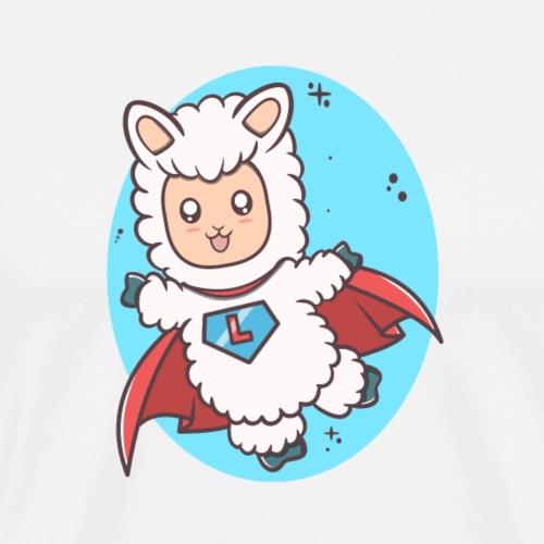 Super Llama - Herre premium T-shirt