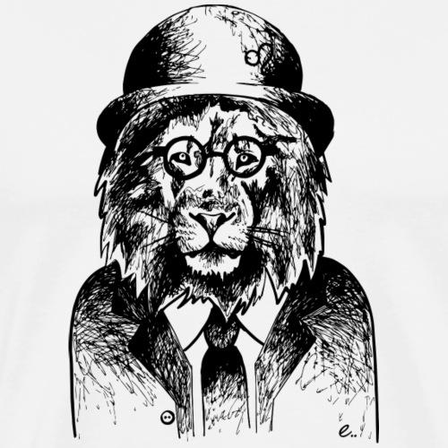 Lion Vintage - T-shirt Premium Homme