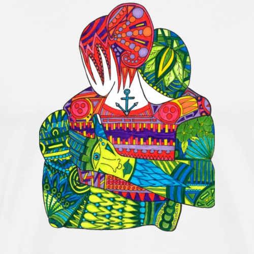 Abrazo - Camiseta premium hombre