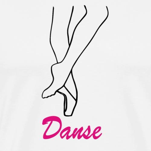 pointes danse - T-shirt Premium Homme