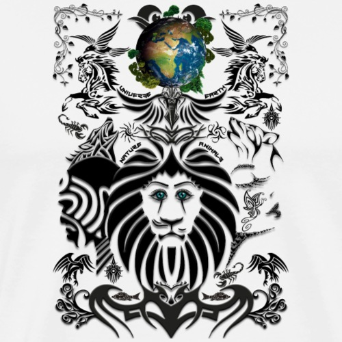 Mother EARTH NatureContest by T-shirt chic et choc - T-shirt Premium Homme