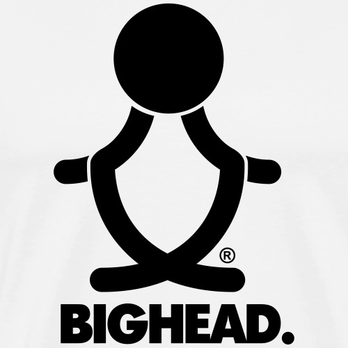 Big Head - Mannen Premium T-shirt
