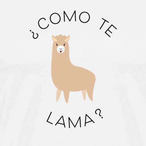 COMO TE LAMA ? - T-shirt Premium Homme