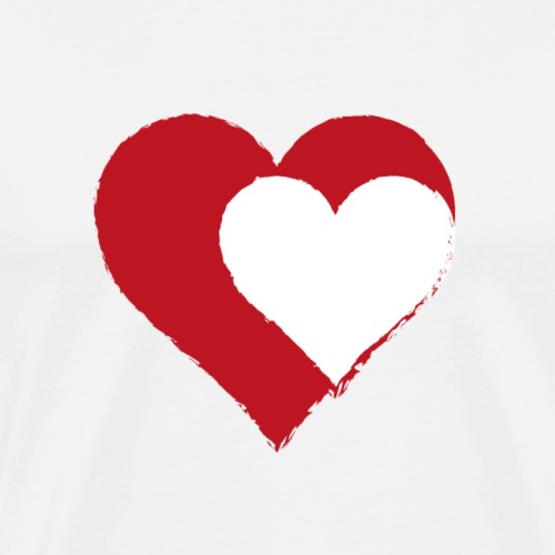 2LOVE - Premium-T-shirt herr