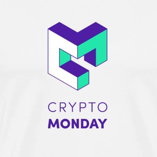 CryptoMonday Weiß - Männer Premium T-Shirt