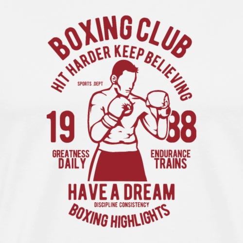 Club de boxe - T-shirt Premium Homme