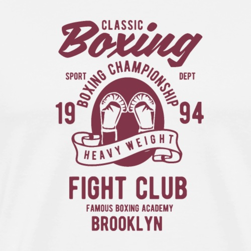 Classic Boxing - T-shirt Premium Homme