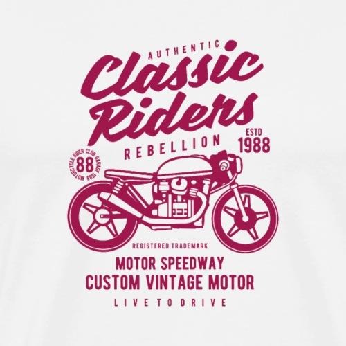 Classic Riders - T-shirt Premium Homme