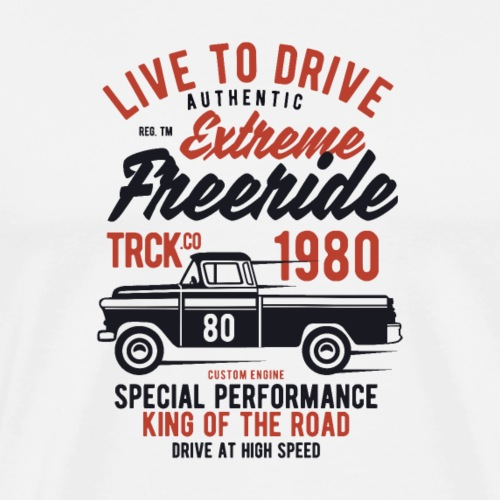 Extreme Freeride Truck - T-shirt Premium Homme