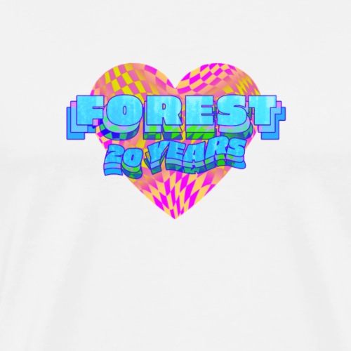 Forest 20 Check - Men's Premium T-Shirt